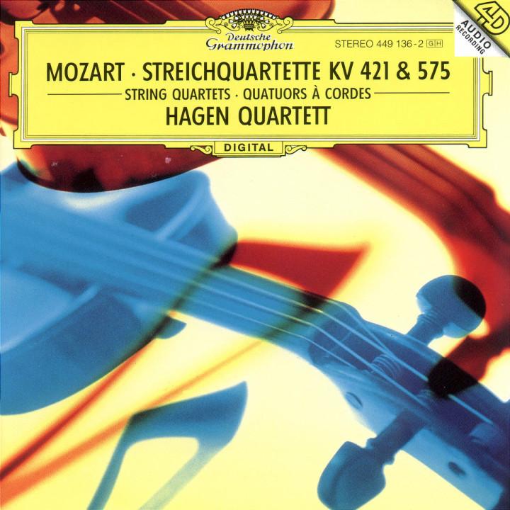 """Streichquartette d-moll KV 421 & D-dur KV 575 """"Veilchenquartett"""" 0028944913622"""