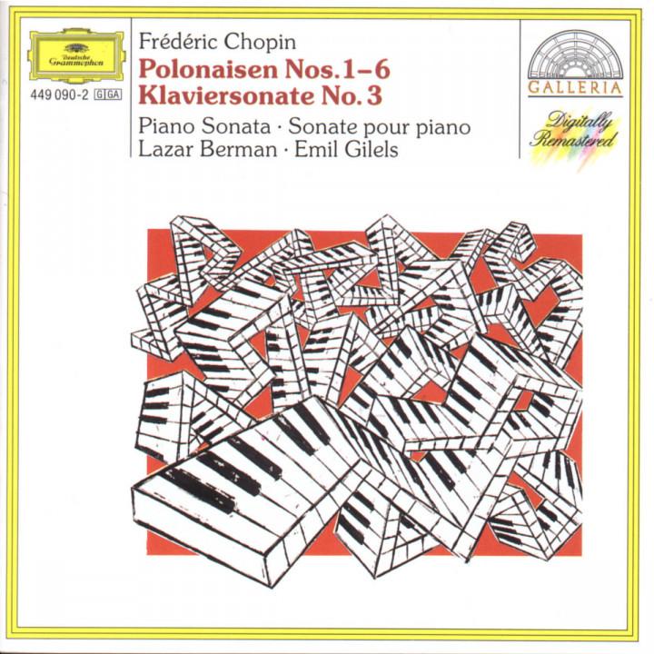 Polonaisen Nr. 1-6; Klaviersonate Nr. 3 h-moll op. 58 0028944909027