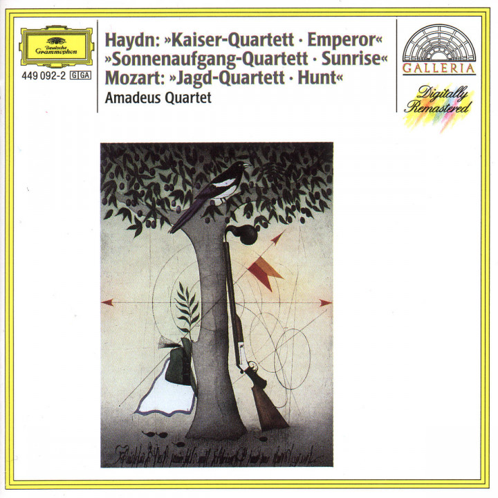 "Haydn: String Quartets ""Emperor""; ""Sunrise"" / Mozart: String Quartet ""The Hunt"" 0028944909223"