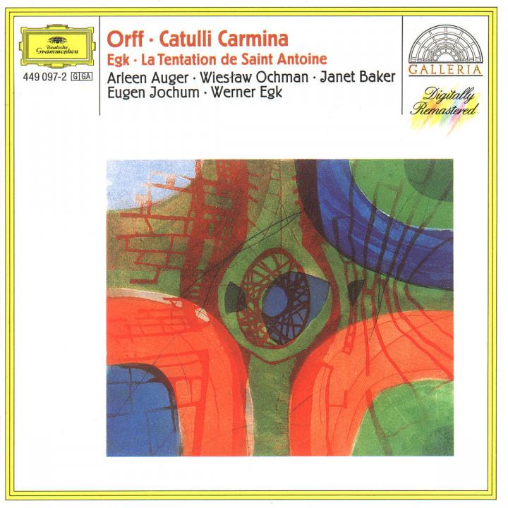 Orff: Catulli Carmina / Egk: La Tentation de Saint Antoine 0028944909728