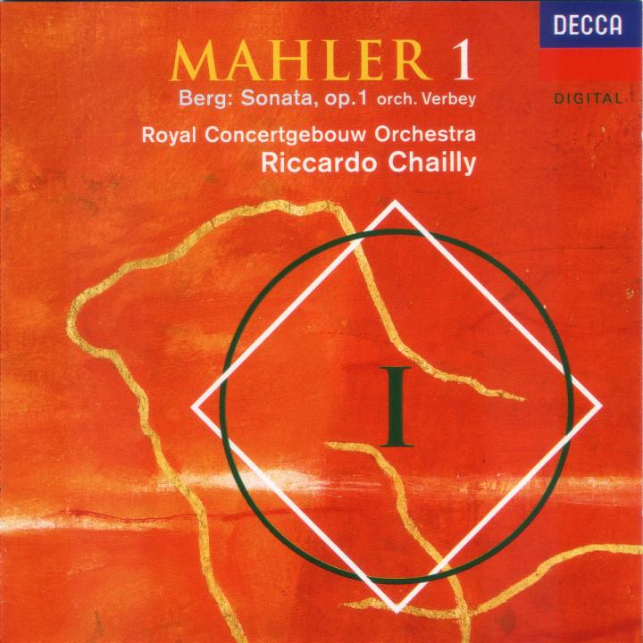 Mahler: Symphony No.1 / Berg: Sonata, Op.1 (orch Verbey) 0028944881321