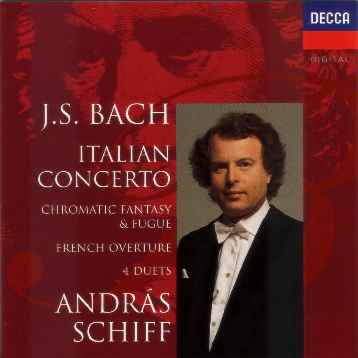 Italienisches Konzert; Chromatische Fantasie und Fuge 0028944890828