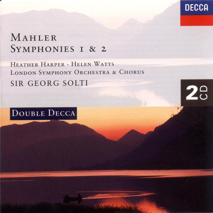 Mahler: Symphonies Nos. 1 & 2 0028944892129