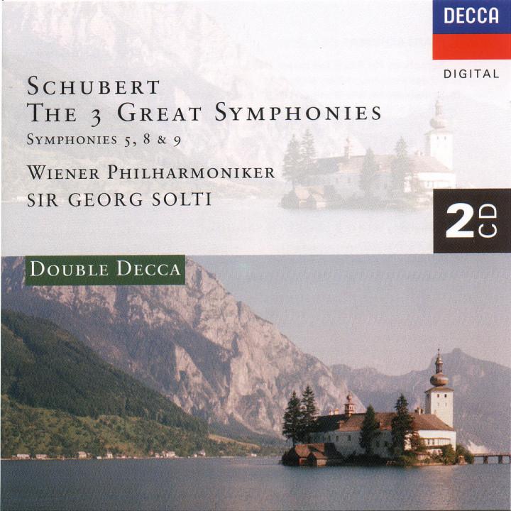 Schubert: Symphonies Nos. 5, 8 & 9 0028944892727