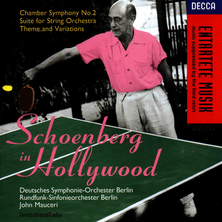 Schoenberg In Hollywood 0028944861923