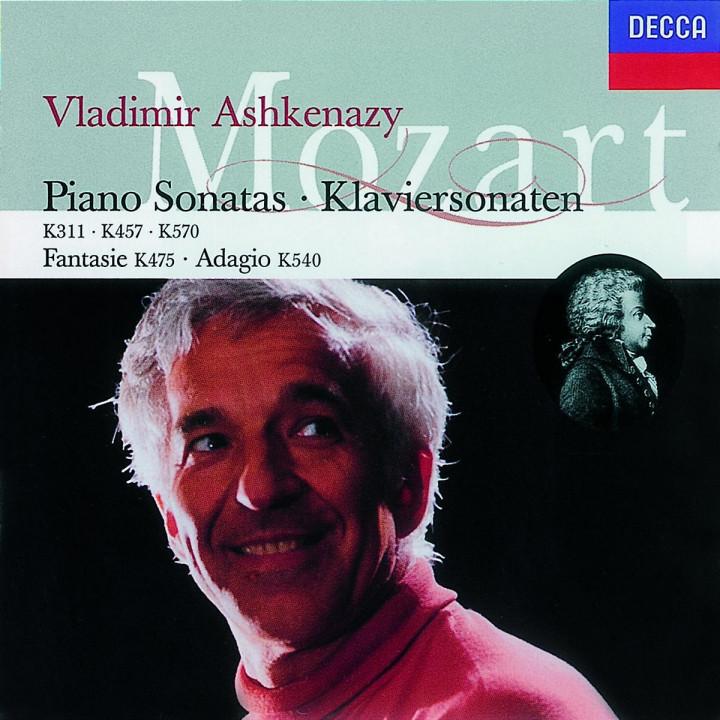 Klaviersonaten D-dur KV 311; c-moll KV 457; B-dur KV 570; Fantasie c-moll KV 475 0028944862924