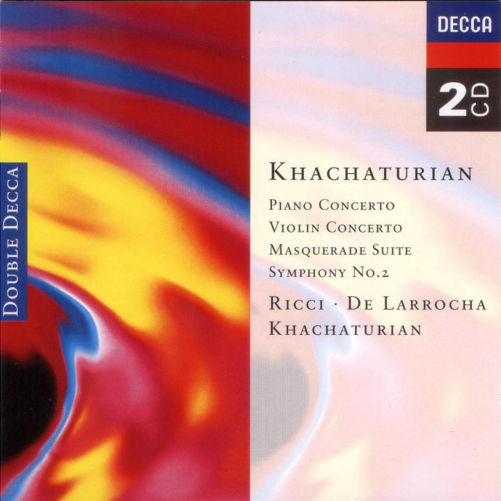 Klavierkonzert; Maskerade; Violinkonzert; Sinfonie Nr.2 0028944825224
