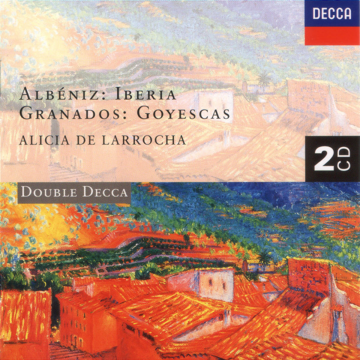 Albéniz: Iberia/Granados: Goyescas 0028944819122