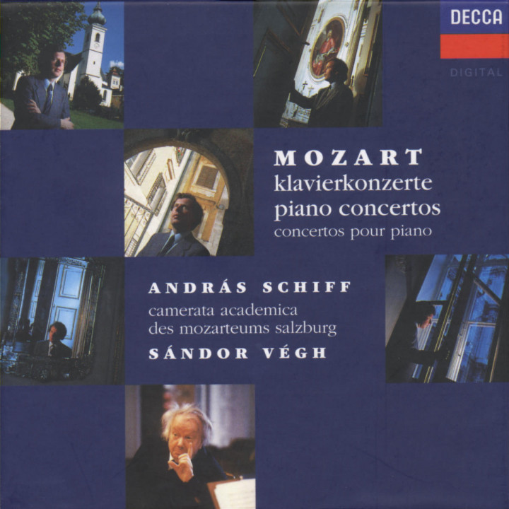 Mozart: The Piano Concertos 0028944814024