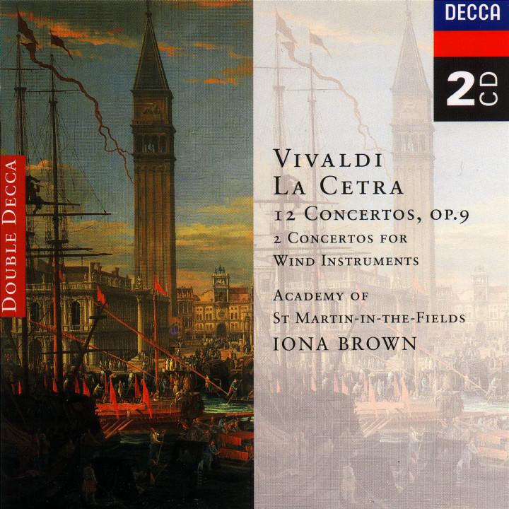 Vivaldi: La Cetra, Op. 9/Wind Concertos 0028944811021