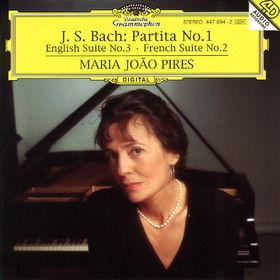 Johann Sebastian Bach, Partita Nr. 1 B-dur BWV 825, Englische Suite Nr. 3 g-moll BWV 808, Französische Suite Nr. 2 c-moll, 00028944789423