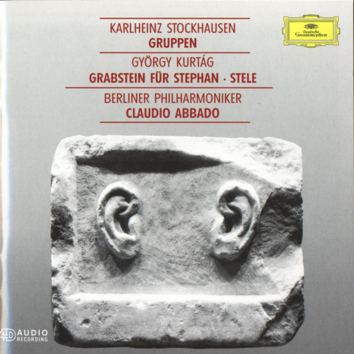 Grabstein für Stephan, Op.15; Stele, Op. 33 / Stockhausen: Gruppen