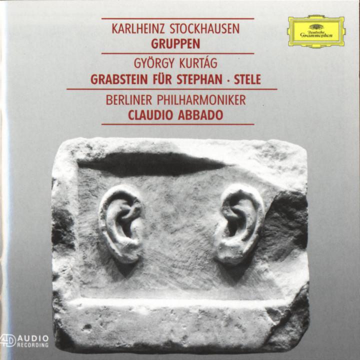 Kurtág: Grabstein für Stephan Op.15 / Stockhausen: Gruppen 0028944776126