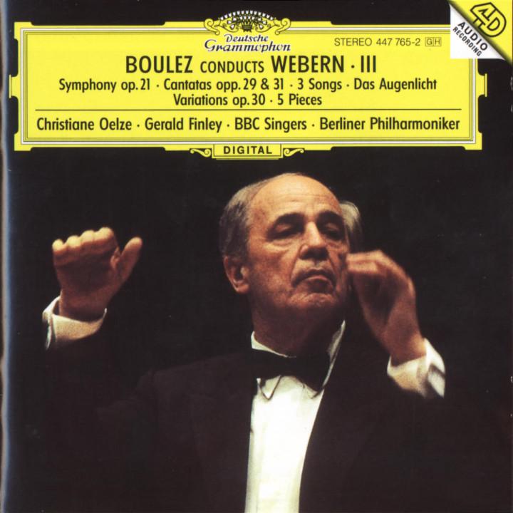 Sinfonie op. 21; Kantaten op. 29 & op. 31; Stücke für Orchester op. 10 0028944776528