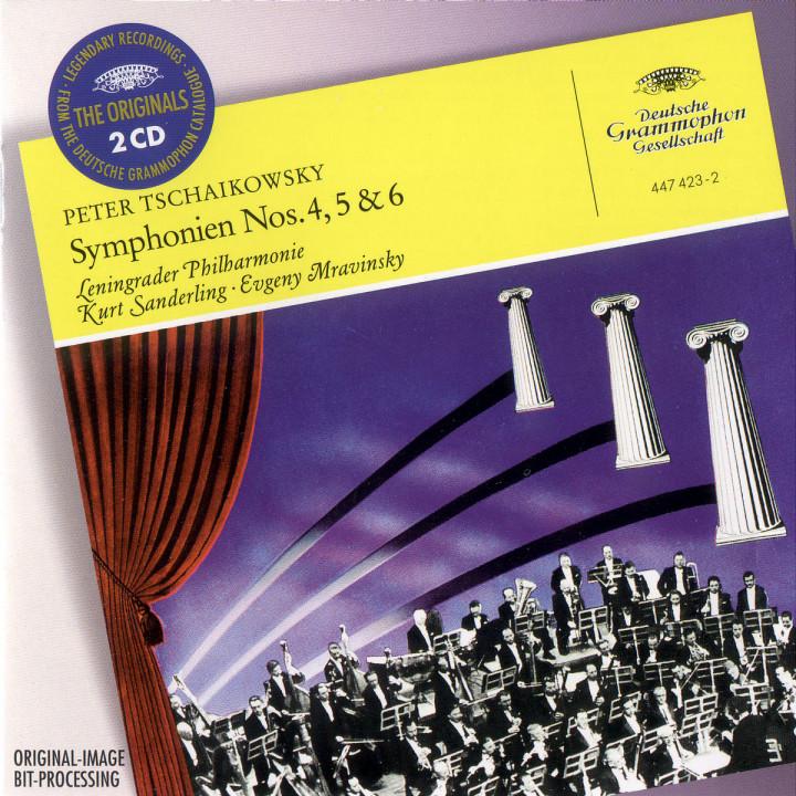 """Tchaikovsky: Symphonies Nos.4, 5 & 6 """"Pathétique"""" 0028944742329"""
