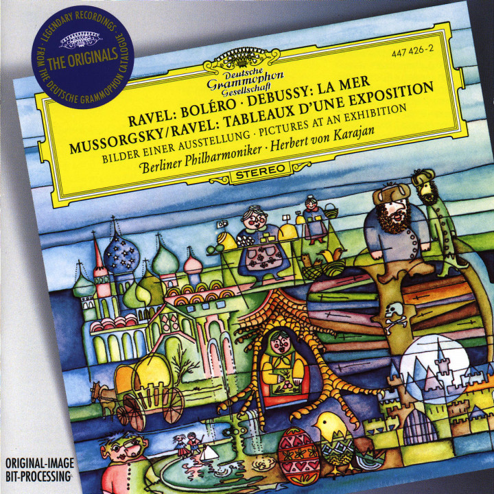 Ravel: Boléro / Debussy: La Mer / Mussorgsky: Pictures at an Exhibition 0028944742628