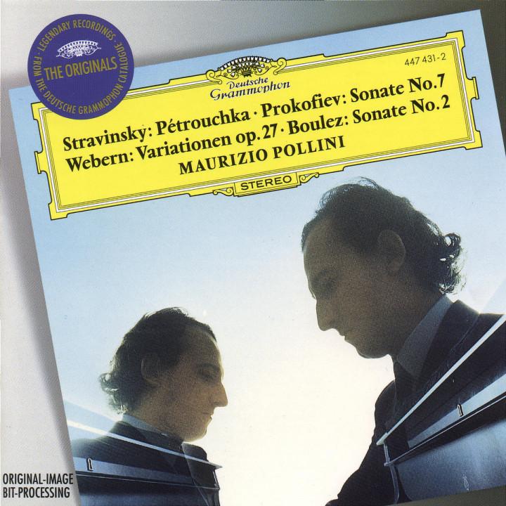 Pétrouchka; Sonate Nr. 7; Variationen op. 27; Sonate Nr. 2 0028944743124