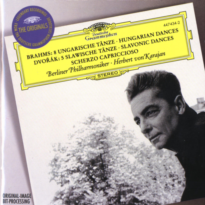 Brahms: 8 Hungarian Dances / Dvorák: 5 Slavonic Dances; Scherzo capriccioso 0028944743423
