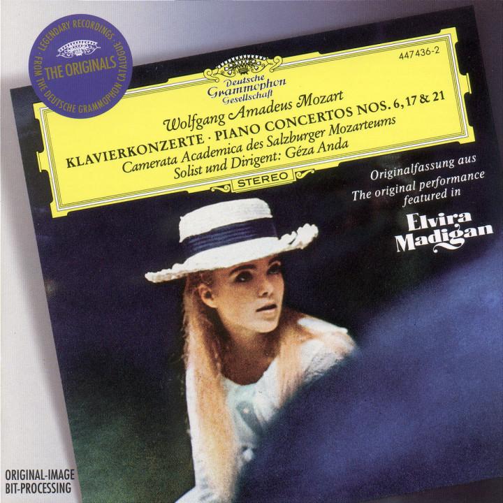 Mozart: Piano Concertos Nos.6, 17 & 21 0028944743629