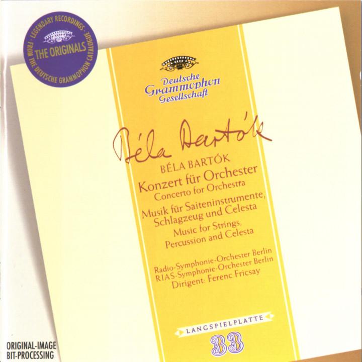 Bartok: Concerto For Orchestra Sz116; Music For Strings, Percussion & Celesta 106 0028944744321