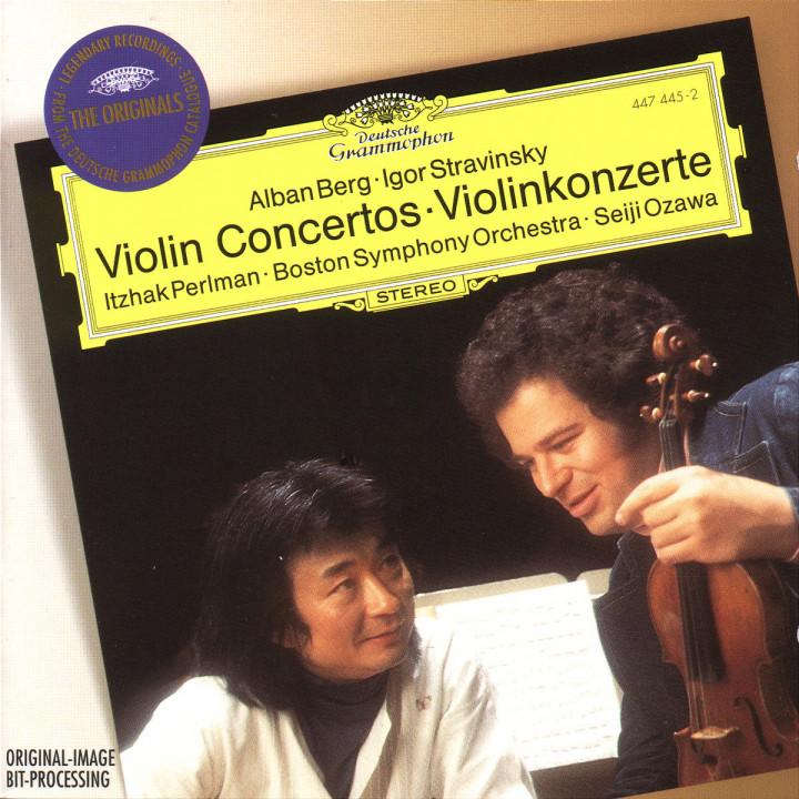 Berg / Stravinsky: Violin Concertos 0028944744527