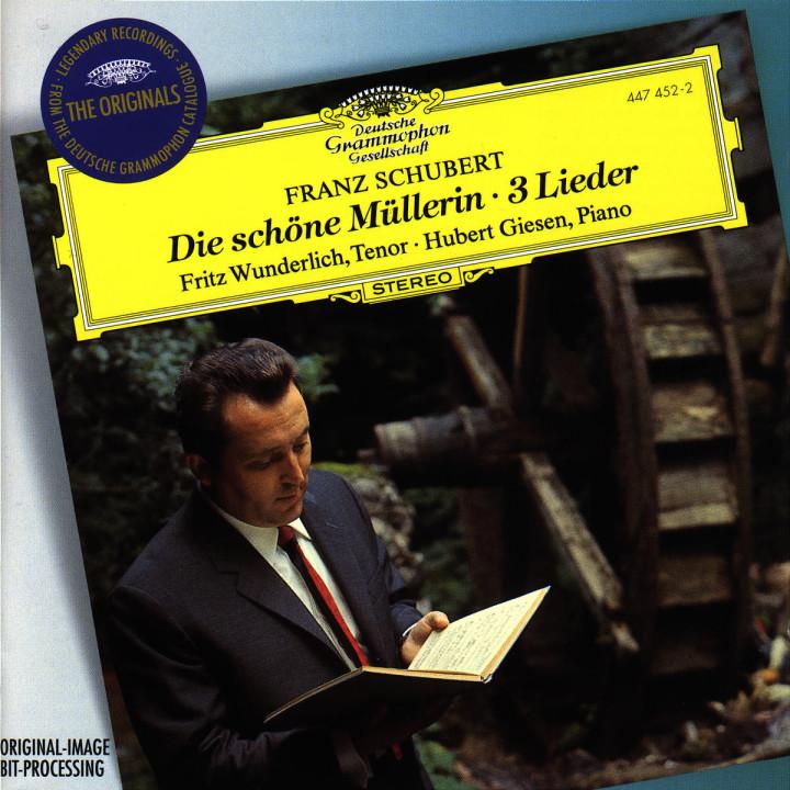 Schubert: Die schöne Müllerin; 3 Lieder 0028944745229