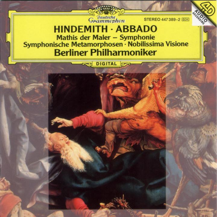"Hindemith: ""Mathis der Maler""; Nobilissima Visione; Symphonic Metamorphoses 0028944738920"