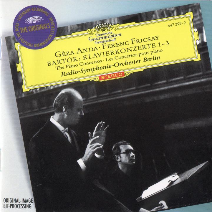 Bartók: Piano Concertos Nos.1-3 0028944739921