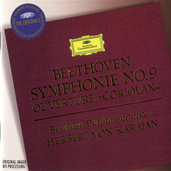 "Beethoven: Symphony No.9; Overture ""Coriolan"" 0028944740121"