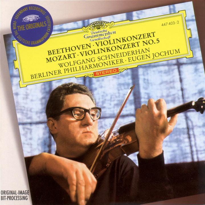 Beethoven: Violin Concerto / Mozart: Violin Concerto No.5 0028944740327