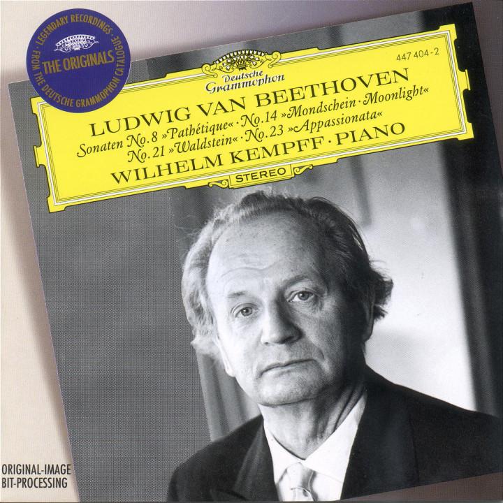 Beethoven: Piano Sonatas Nos.8, 14, 21 & 22 0028944740420