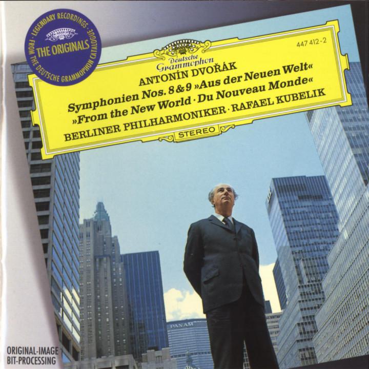 """Dvorák: Symphony Nos.8 & 9 """"From The New World"""" 0028944741225"""