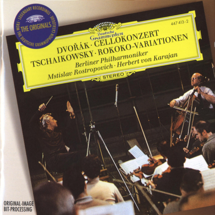 Dvorák: Cello Concerto / Tchaikovsky: Variations on a Rococo Theme 0028944741328
