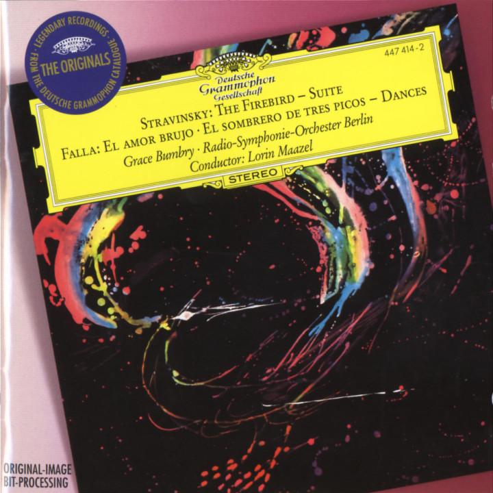 Stravinsky: The Firebird Suite / Falla: El Amor Brujo; El Sombrero De Tres Picos 0028944741421