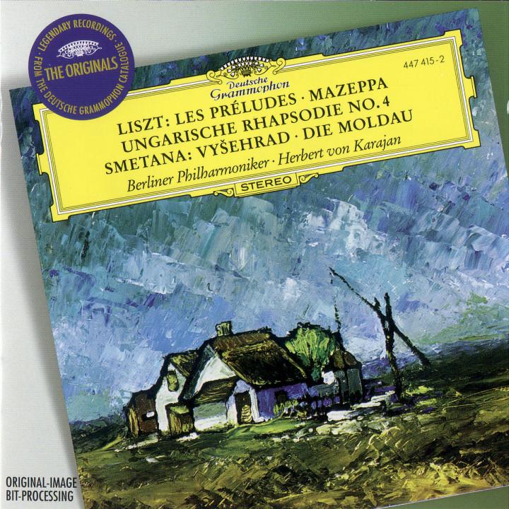 Smetana: The Moldau; Vysehrad / Liszt: Les Préludes; Mazeppa; Hungarian Rhapsody No.4 0028944741524