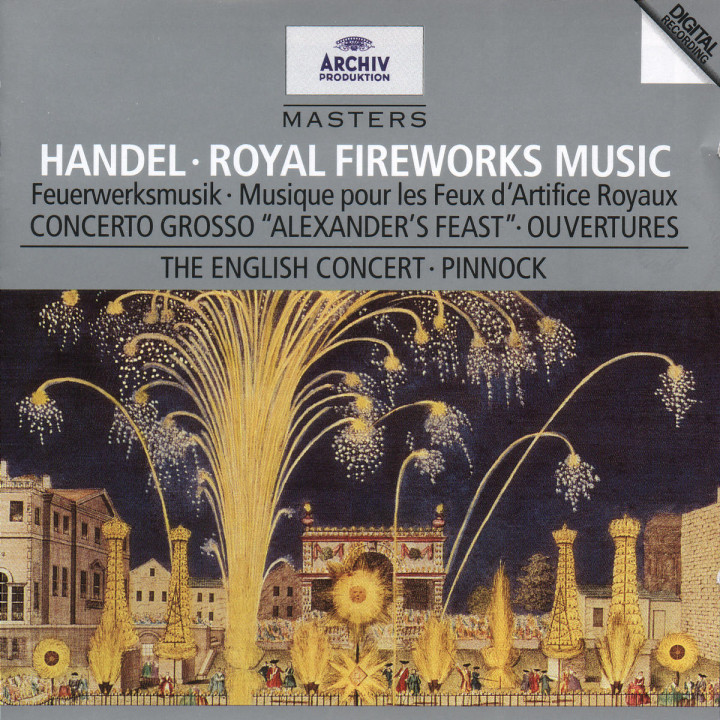 Handel: Music for the Royal Fireworks 0028944727926