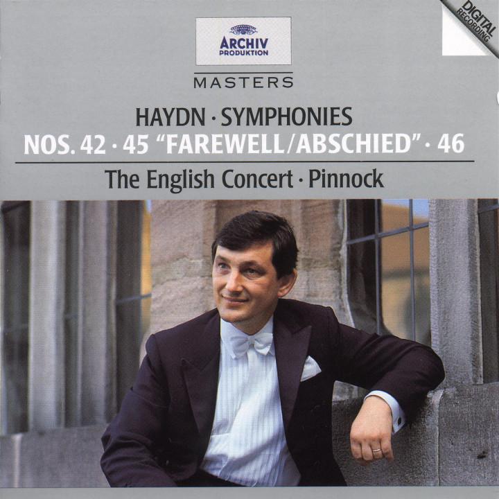 "Sinfonien Nr. 42 D-dur; Nr. 45 fis-moll ""Abschiedssinfonie""; Nr. 46 H-dur 0028944728123"