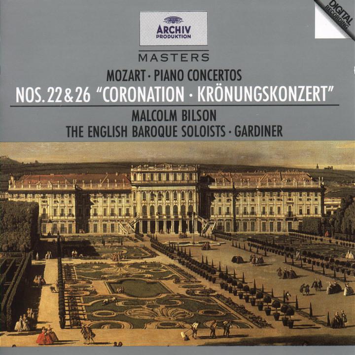 """Klavierkonzerte Nr. 22 Es-dur KV 482 & Nr. 26 D-dur KV 537 """"Krönungskonzert"""" 0028944728329"""