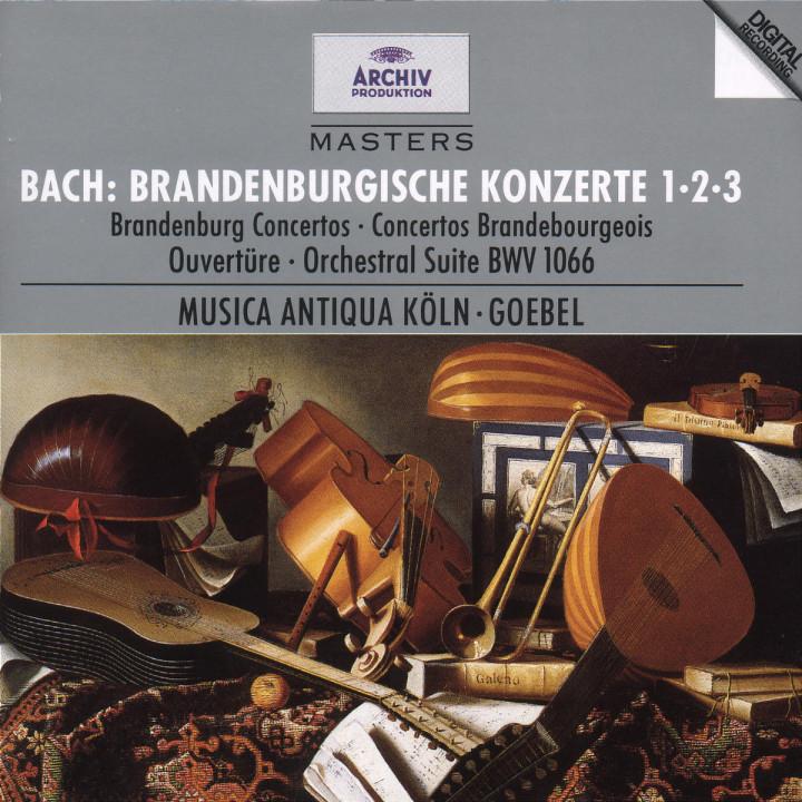 Bach, J.S.: Brandenburg Concertos Nos.1, 2 & 3 0028944728721