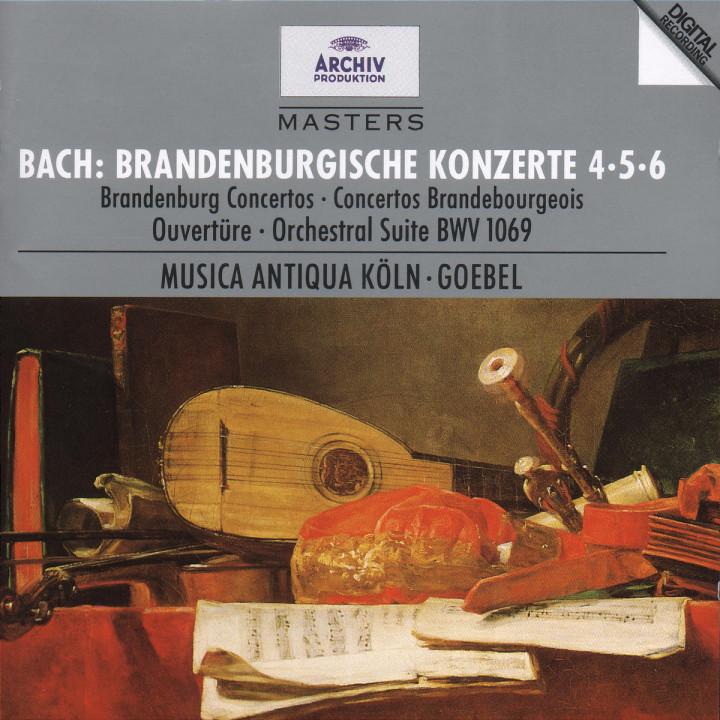 Bach, J.S.: Brandenburg Concertos Nos.4, 5 & 6; Overture No.4 0028944728824