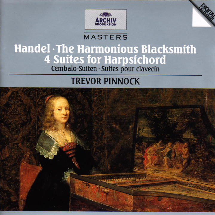 Der harmonische Grobschmied; Chaconne; Vier Cembalo Suiten 0028944729021