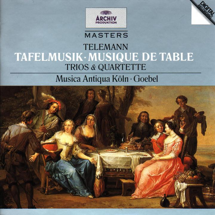 Tafelmusik - Trios & Quartette 0028944729629