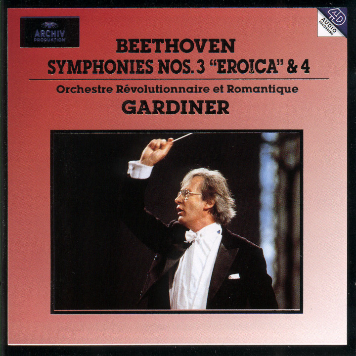 """Sinfonien Nr. 3 Es-dur op. 55 """"Eroica"""" & Nr. 4 B-dur op. 60 0028944705021"""