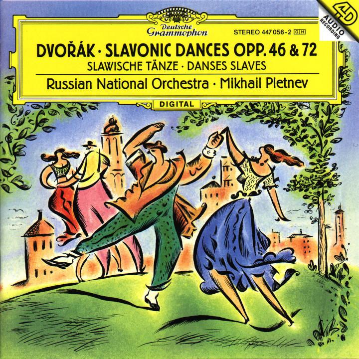 Slawische Tänze op. 46 & 72 0028944705629