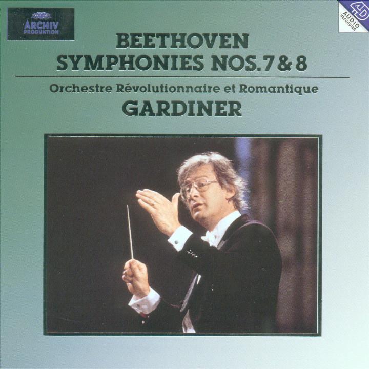 Beethoven: Symphony No.7 op.92 & No.8 op.93 0028944706321