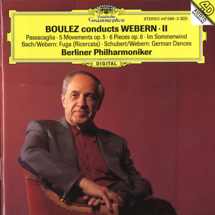 Boulez conducts Webern II 0028944709922