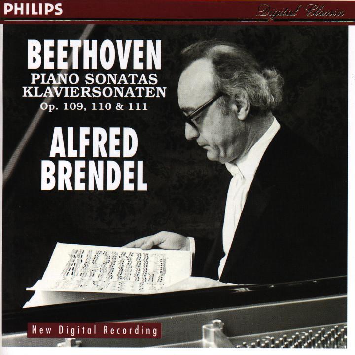 Beethoven: Piano Sonatas No.30 Op.109, No.31 Op.110 & No.32 Op.111 0028944670129