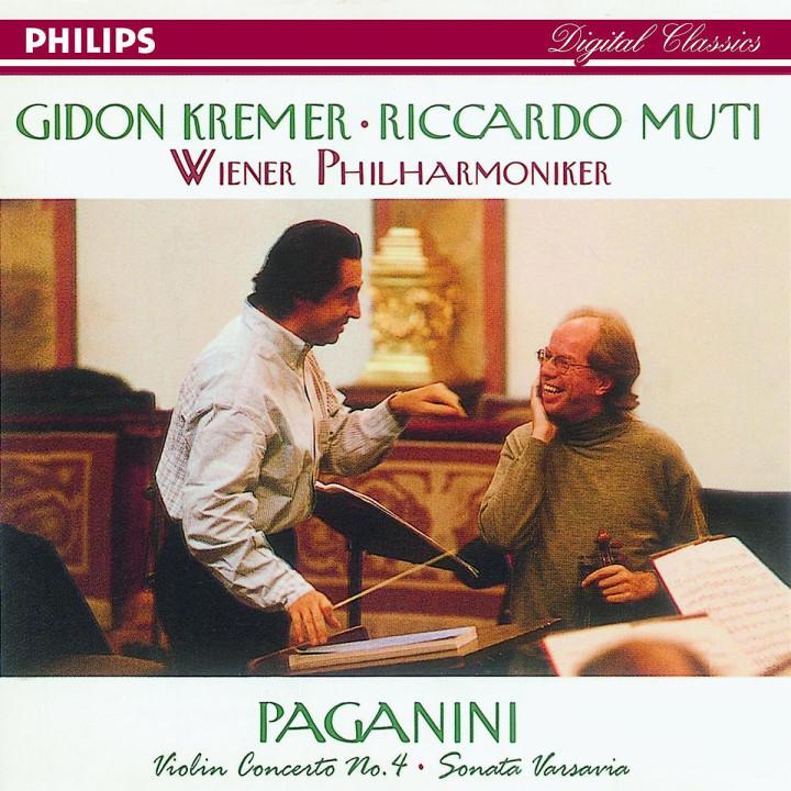 Gidon Kremer spielt Paganini 0028944671821