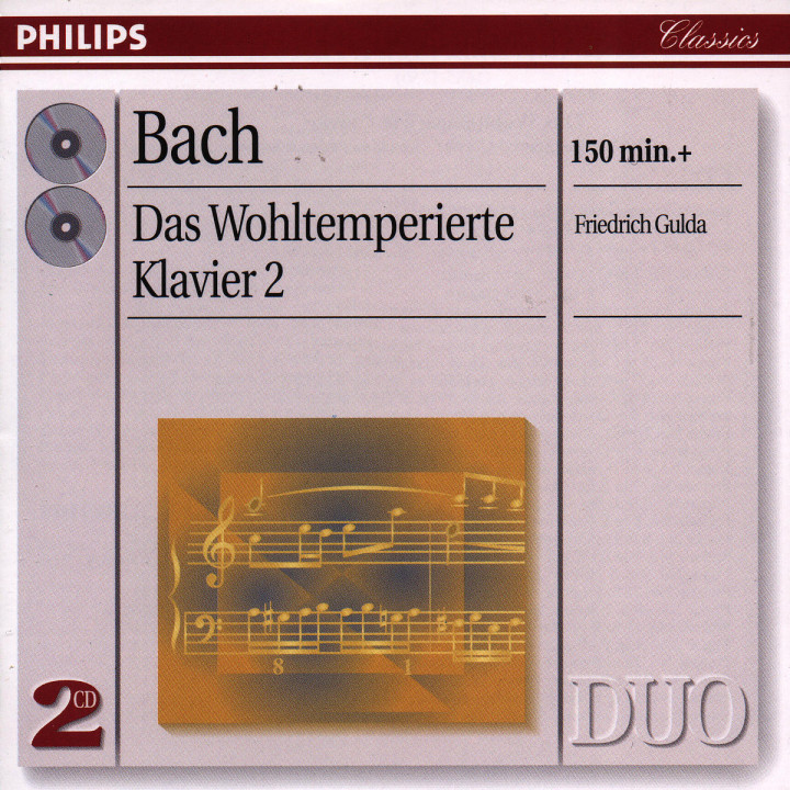 Bach, J.S.: The Well-tempered Clavier, Book 2
