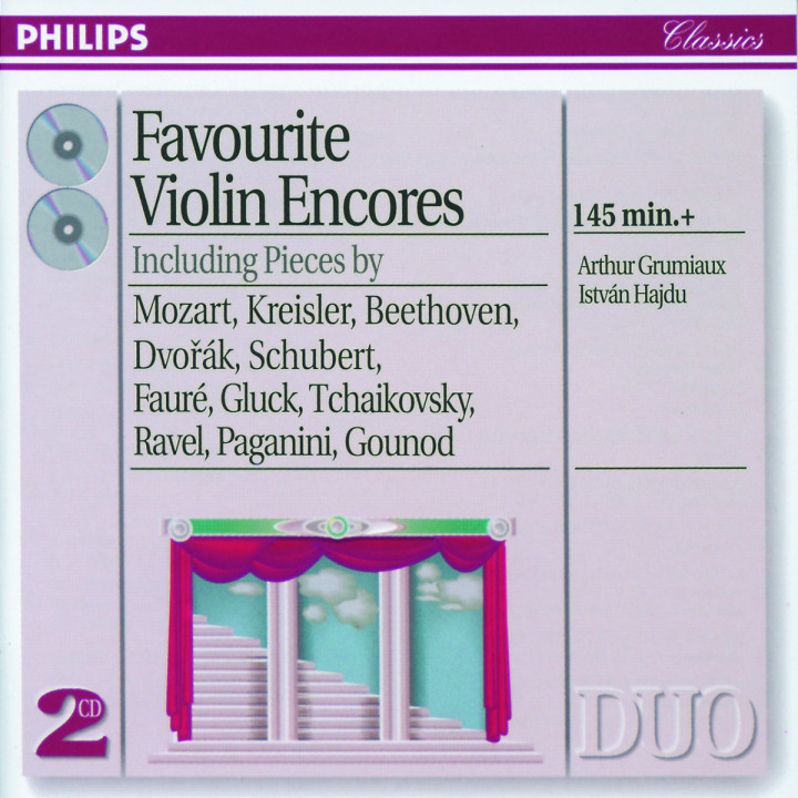 Favourite Violin Encores 0028944656026